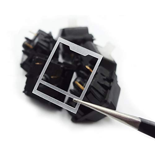 DUROCK Switch Film for Cherry MX Compatible Mechanical Keyboard Switches