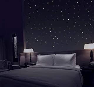 talinu Ciel étoilé avec 368 Points Lumineux Autocollants - Point Fluorescent, Sticker Mural adhésif
