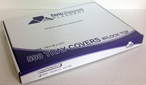 Plasdent PS201 Tray Cover With Lock Top Size B 10 1/2