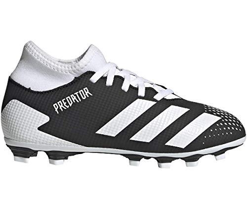 adidas Predator 20.4 S IIC FxG J, Zapatillas de fútbol Unisex niños, NEGBÁS/FTWBLA/NEGBÁS, 34 EU