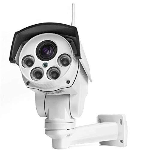 Cámara de seguridad para exteriores, 1080P cámaras de vigilancia al aire libre con visión nocturna, detección de movimiento, audio bidireccional, IP66 impermeable, visión remota para Android/iOS (4G)