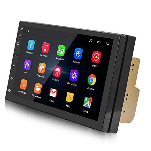 VANOLU Androide 7 Pulgadas Reproductor de Coche 4.0 Radio Estéreo Navegador GPS de Coche Una Máquina 1018