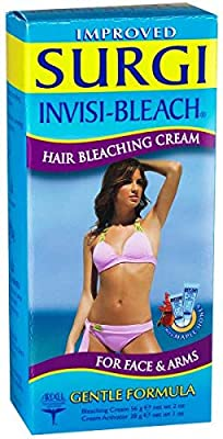 Surgi Cream Invisi-bleach Hair