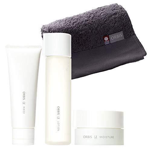 ORBIS(オルビス)オルビスユー3ステップセット(洗顔料・化粧水・保湿液各約3ヶ月分)タオル付