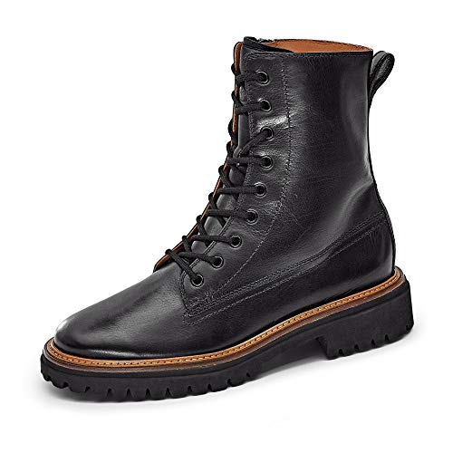Paul Green Damen Boots Glattleder schwarz Gr. 38