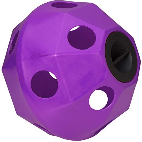 Trilanco, Prostable Pallone da Hayball, Grandi Fori, Colore: Viola Unisex-Adulto, Standard