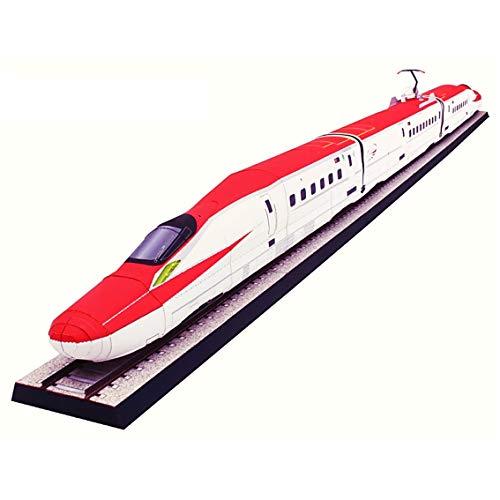 FRETE GRATIS Quebra Cabeça 3D Trem Bala Shinkansen Series E6 Komachi Colagem Papercraft HAS BRASIL