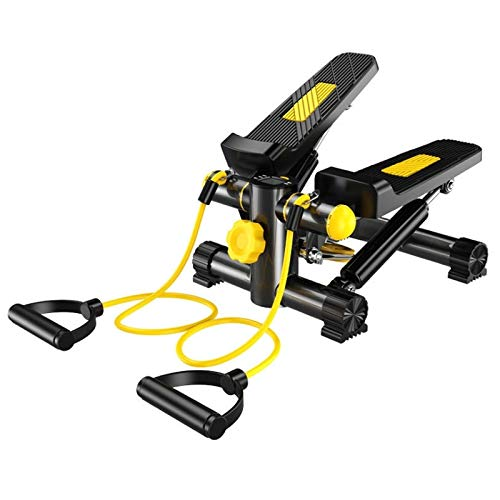 Inicio Equipo de fitness Máquina de escalera multifuncional, pareja de par trenzado horizontal, con labs de silicona de alambre de resistencia para ajustar las nalgas, las piernas, los muslos, la cint