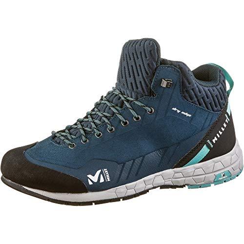 MILLET Amuri Leather Mid Dry W, Chaussures de Randonnée Hautes Mixte Adulte, Bleu (Orion Blue/Indian 9109), 38