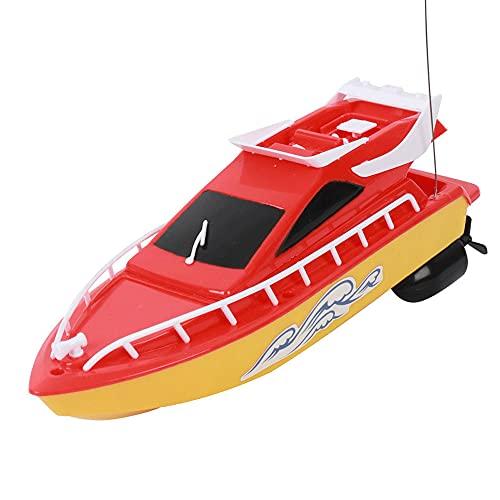 CHENBAI Lancha rápida con control remoto, bote de carreras de alta velocidad de 2.4G de resistencia, lancha rápida de agua de verano, juguete de avión modelo para niño, bote rápido a control remoto pa