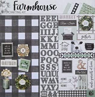 farmhouse scrapbook paper