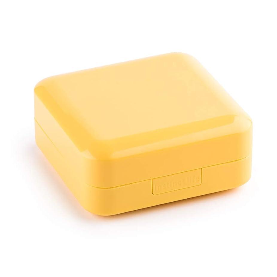 リーズ上院議員ピカソ1週間の薬箱が付いている小型携帯用小さい丸薬箱は防湿ライトボックス、7パックを密封しました