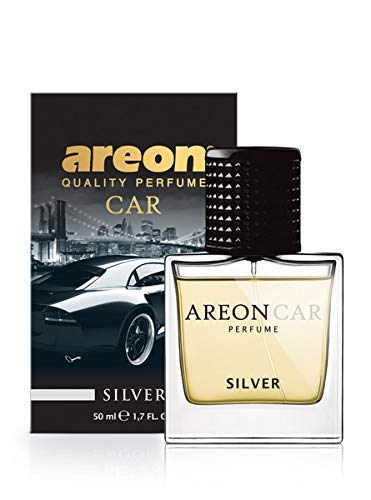 Ambientador Areon Lux Perfume Plata 50 ml.