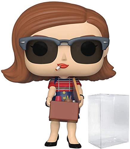 Pop TV: Mad Men - Peggy Olson Pop! Figura de Vinilo (Incluye Funda Protectora Compatible con Pop...