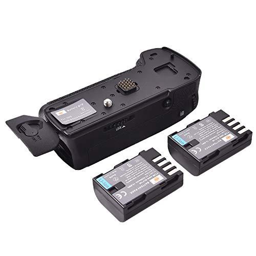 DSTE DMW-BGGH5 DMW-BGGH5GK - Empuñadura Vertical de batería para cámara Digital Panasonic LUMIX DMC-GH5 GH5 + 2 baterías DMW-BLF19