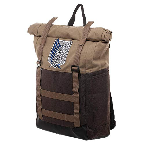 Attack on Titan Roll-Top Laptop Backpack