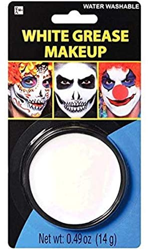 amscan 840945 White Grease Face Paint | 1 Piece...