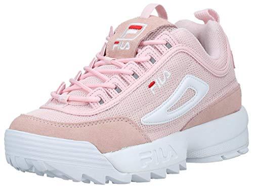 Fila Sneaker Disruptor MESH Low WMN Chalk Pink Taglia 39 - Colore ROSA
