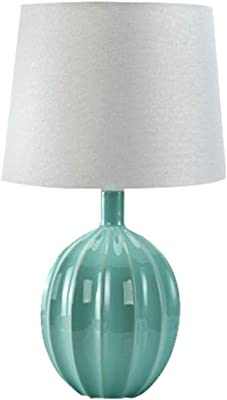 ForeverLighting,FL-62862,Creative Ceramics Table Lamp Fixture, Mediterranean LED Desk Lamp