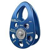 GM CLIMBING UIAA Certified 30kN Swing Cheek Micro Pulley Ball Bearing CE General Purpose