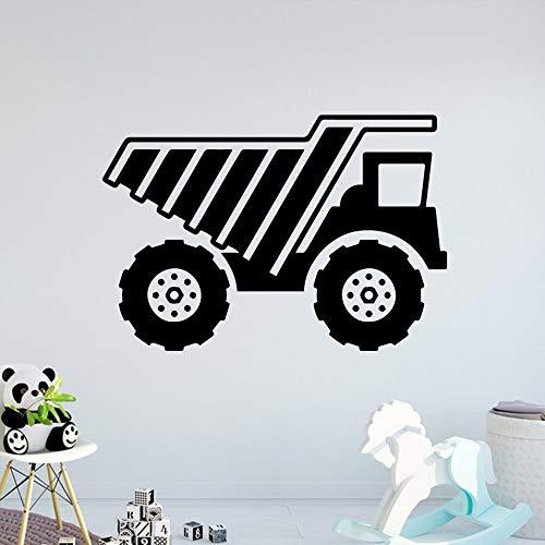 jtxqe Niedliche Traktor Pvcs Wohnzimmer Wandtattoo Wasserdichtes Vinyl Dekor Wandsofa Hauptdekoration M 30Cm X 43Cm