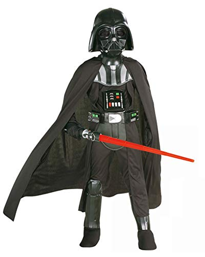 Rubie's 3882014 - Darth Vader Deluxe Child Kostüm, M