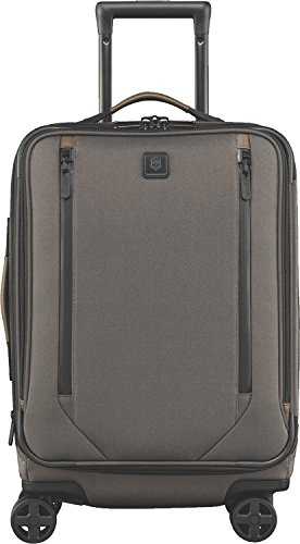 """Victorinox Lexicon 2.0 Softside Expandable Spinner Luggage, Grey, Carry-On-Global (22"""")"""