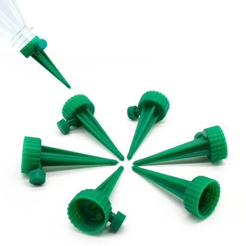 Netrox Wasserspender für Pflanzen | 6X automatische Bewässerung für Garten Pflanzen Blumen und Zimmerpflanzen Bewässerung | automatisches gießen | Wasserspender Bewässerungssystem