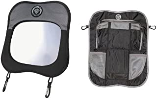 Prince Lionheart Baby View Mirror with Backseat Organizer