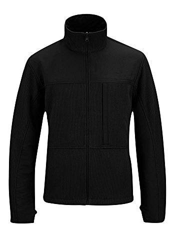 Propper Men's Full Zip Tech Sweater, Black, Small/Regular