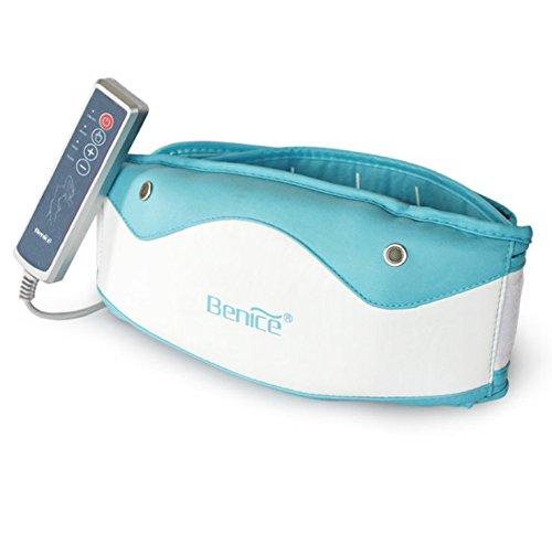 KEEXUENNL Benice - Cinturón eliminado de grasa/batidos eléctricos para pérdida de peso...