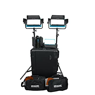 Dracast DRPL-INT-B-CK Interview Plus Bi-Color 3-Light Complete Kit (Blue) (B015AF0VQC) | Amazon price tracker / tracking, Amazon price history charts, Amazon price watches, Amazon price drop alerts