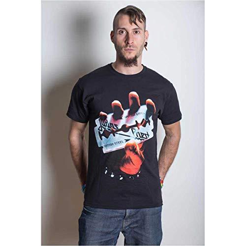 British Steel (T-Shirt,Schwarz,Größe M)