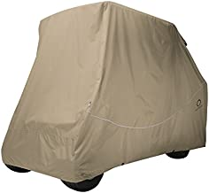 Classic Accessories Fairway Quick Fit Cover For Golf Carts With Rear Facing Back Seats