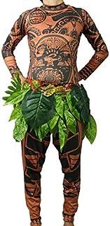 e52d1255227d5 Hiswill Film Moana Maui Costume Moana Costumes Adulte Cosplay Petit bébé  Enfants garçon