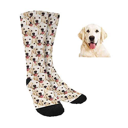 Calcetines Divertidos Personalizados Con Cara Perros Gatos