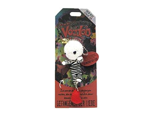 Watchover Voodoo Sammelpuppe Spruch Gefangener der Liebe