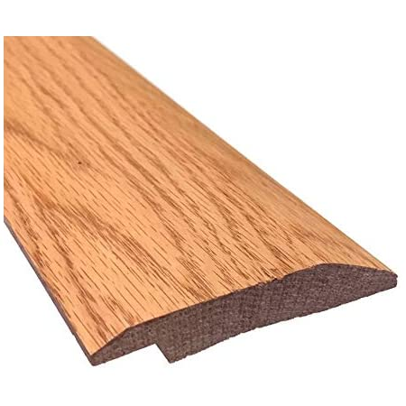 48 3//4 Prefinished Oak Overlap Threshold 5 Wide x 5//8 Thick with Overlap 5//16 Tall Long 4 FT