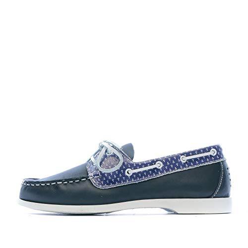 TBS Pietra, Chaussures Bateau Femmes, Bleu (Marine), 39 EU