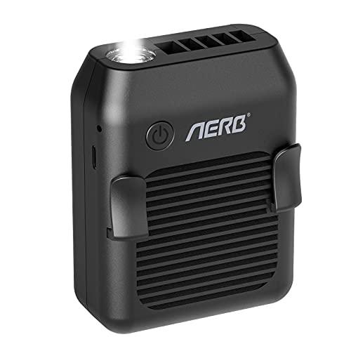 Aerb Ventiladores de sobremesa, Ventilador USB Portátil , Mini Ventiladores de cuello...