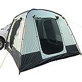 skandika Pitea Van - Tienda Avance para Furgonetas de Camping con 4 entradas - 4 Personas - 310 x 300 x 225cm - Suelo Cosido en Forma de bañera - mosquiteras en Todas Las Puertas
