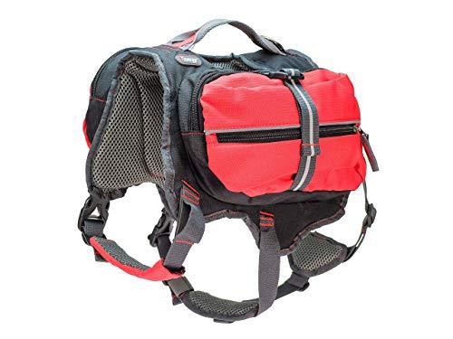 iEnergy MAL Hunderucksack - Wetterfester Rucksack für Hunde – Gut gepolsterter Wanderrucksack (Groß)