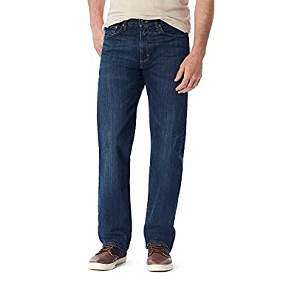 Wrangler Authentics Men's Classic Relaxed Fit Jean, Flex Dark, 36W x 34L
