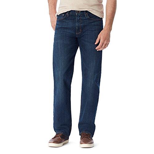 Wrangler Herren Authentics Mens Big & Tall Classic Relaxed Fit Jeans, Flex Dark, 58W / 30L