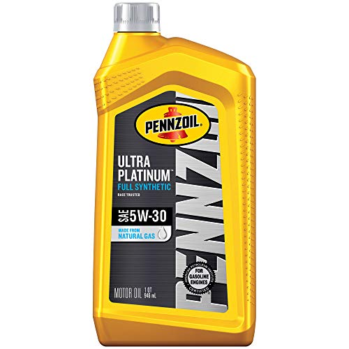Pennzoil Ultra Platinum Full Synthetic 5W-30 Motor Oil (1 Quart, Single Pack)