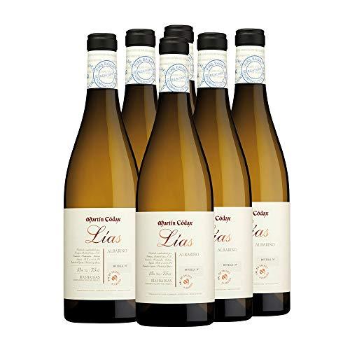 Martín Códax Lías Vino blanco albariño D.O. Rías Baixas - 6 x 750 ml