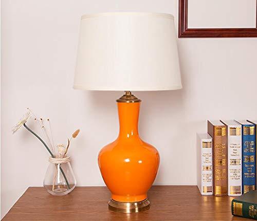 Lámpara de mesaLámpara de mesa de cerámica, cosas buenas lámpara de mesa azul y blanco porcelana creativa lámpara de cerámica de la lámpara de noche lámpara de noche