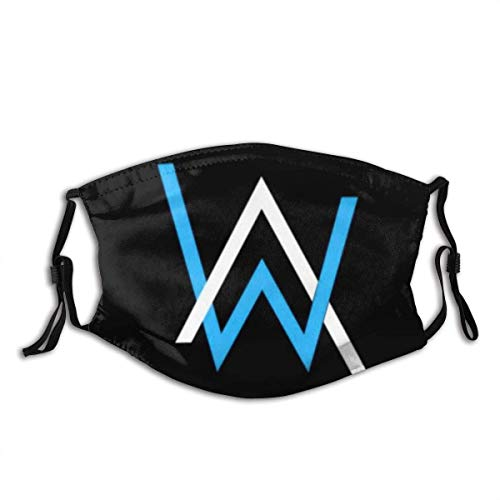 Mundschutz Alans-Walkers Aw Loge Mouth Cover Face Cover Headscarf Outdoor Seamless Reusable Mouth Scarf