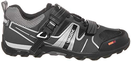 VAUDE Taron AM Unisex-Erwachsene Radsportschuhe - Mountainbike, Schwarz (black 010), 42 EU