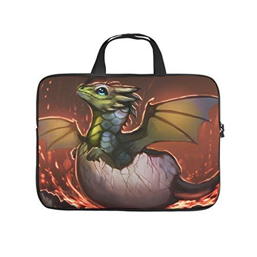 Bolsa para ordenador portátil resistente al agua con diseño de dragón para el trabajo o el negocio.